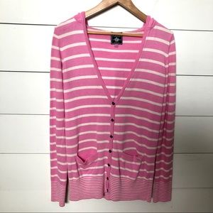 PINK Victoria's Secret Hooded Cardigan Size Medium
